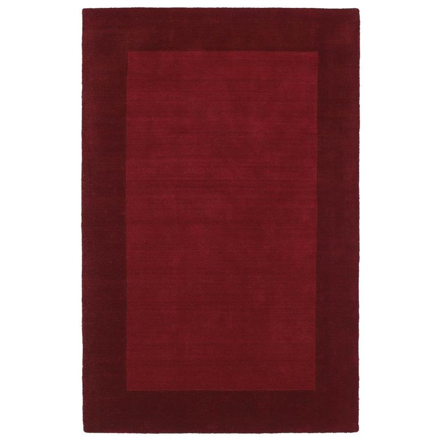 Kaleen Regency Red 8-ft x 10-ft Area Rug