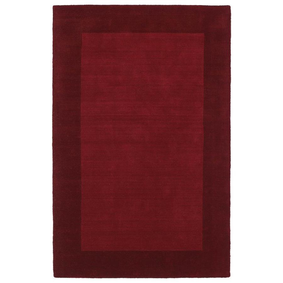 Kaleen Regency Red Rectangular Indoor Handcrafted Oriental Area Rug (Common: 10 x 13; Actual: 9.5-ft W x 13-ft L)
