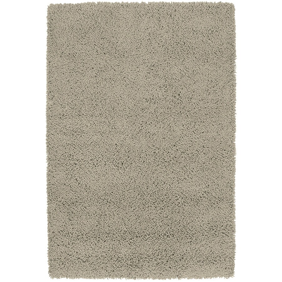 Kaleen Desert Song Shag Taupe Rectangular Indoor Handcrafted Lodge Area Rug (Common: 5 x 7; Actual: 5-ft W x 7.75-ft L)