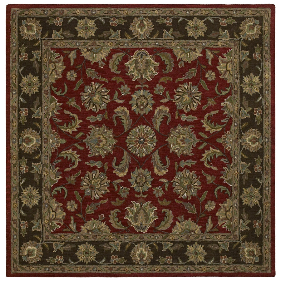 Kaleen Tara2 Salsa Square Indoor Handcrafted Nature Area Rug (Common: 8 x 8; Actual: 7.75-ft W x 7.75-ft L)