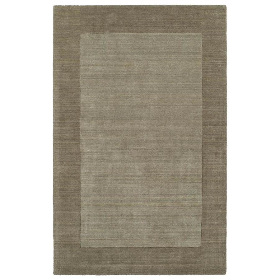 Kaleen Regency Taupe Indoor Handcrafted Oriental Area Rug (Common: 4 x 5; Actual: 3.5-ft W x 5.25-ft L)