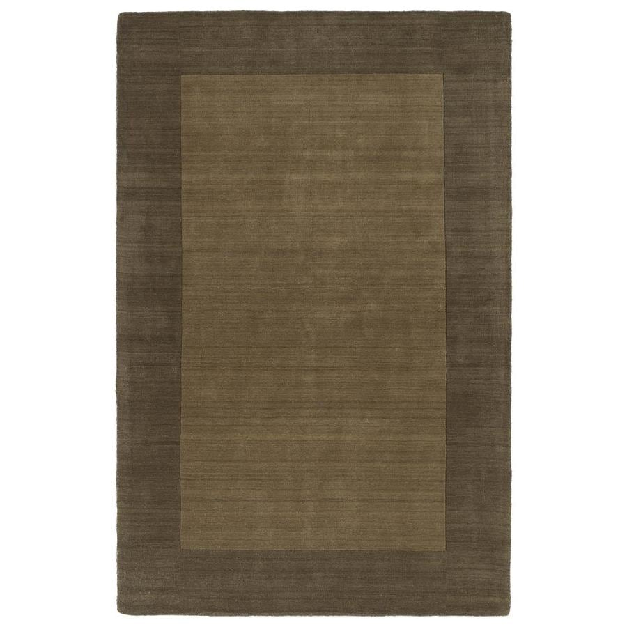 Kaleen Regency Chocolate Indoor Handcrafted Oriental Runner (Common: 2 x 9; Actual: 2.5-ft W x 8.75-ft L)