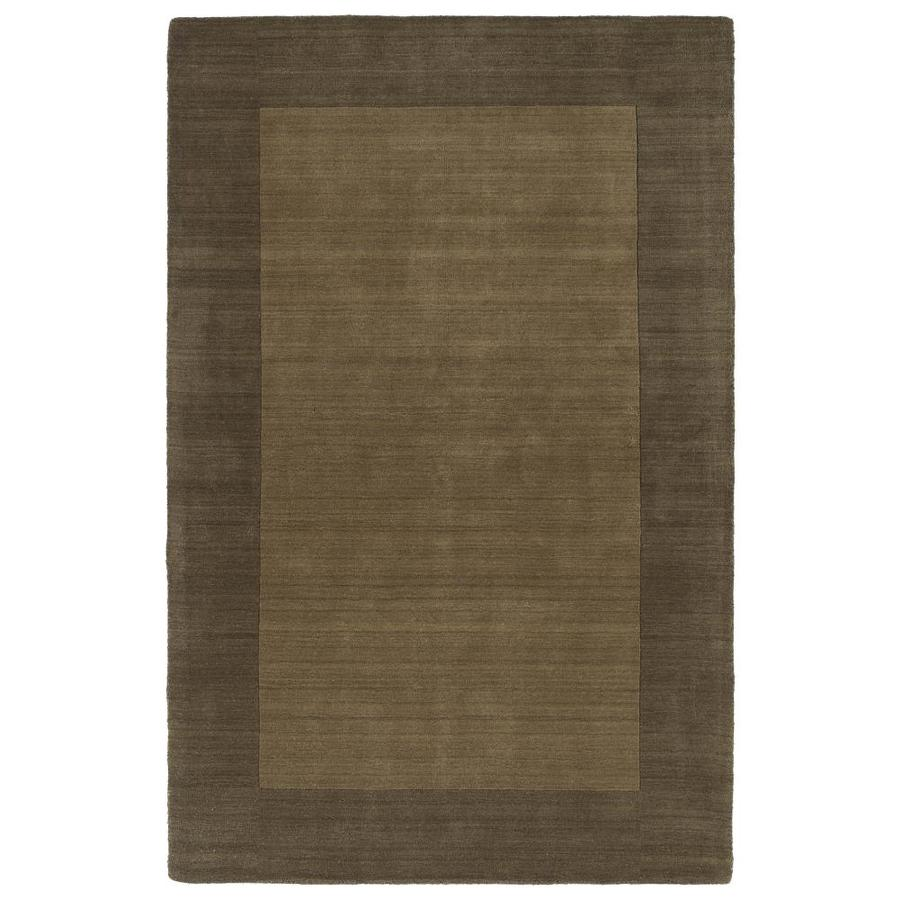Kaleen Regency Chocolate Rectangular Indoor Handcrafted Oriental Area Rug (Common: 5 x 8; Actual: 5-ft W x 7.75-ft L)