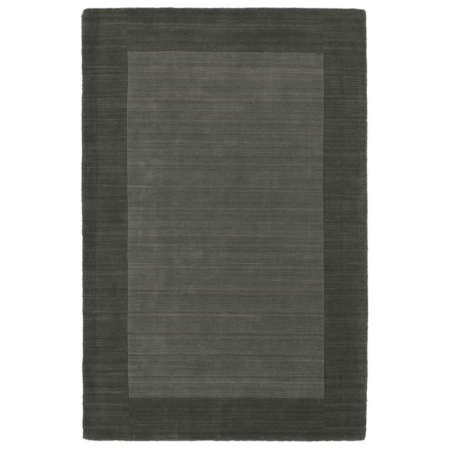 Kaleen Regency Charcoal 3-ft6-in x 5-ft3-in Area Rug