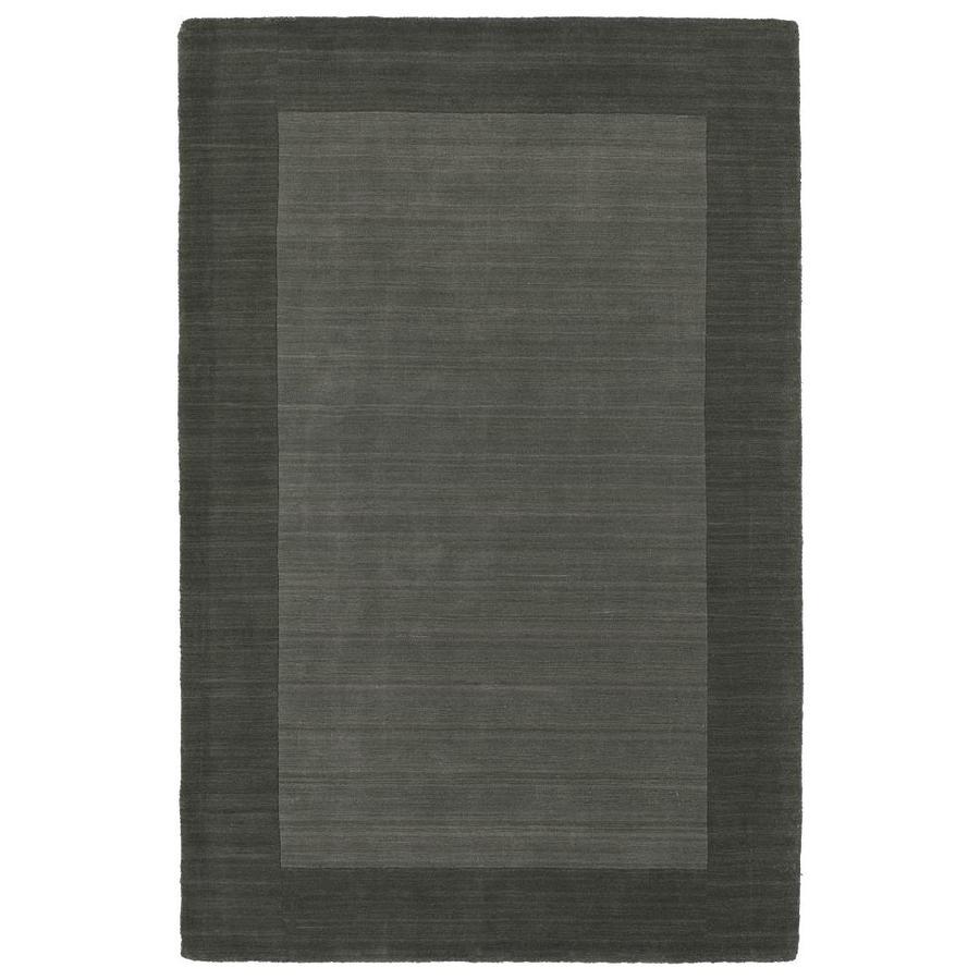 Kaleen Regency Charcoal Rectangular Indoor Handcrafted Oriental Area Rug (Common: 10 x 13; Actual: 9.5-ft W x 13-ft L)