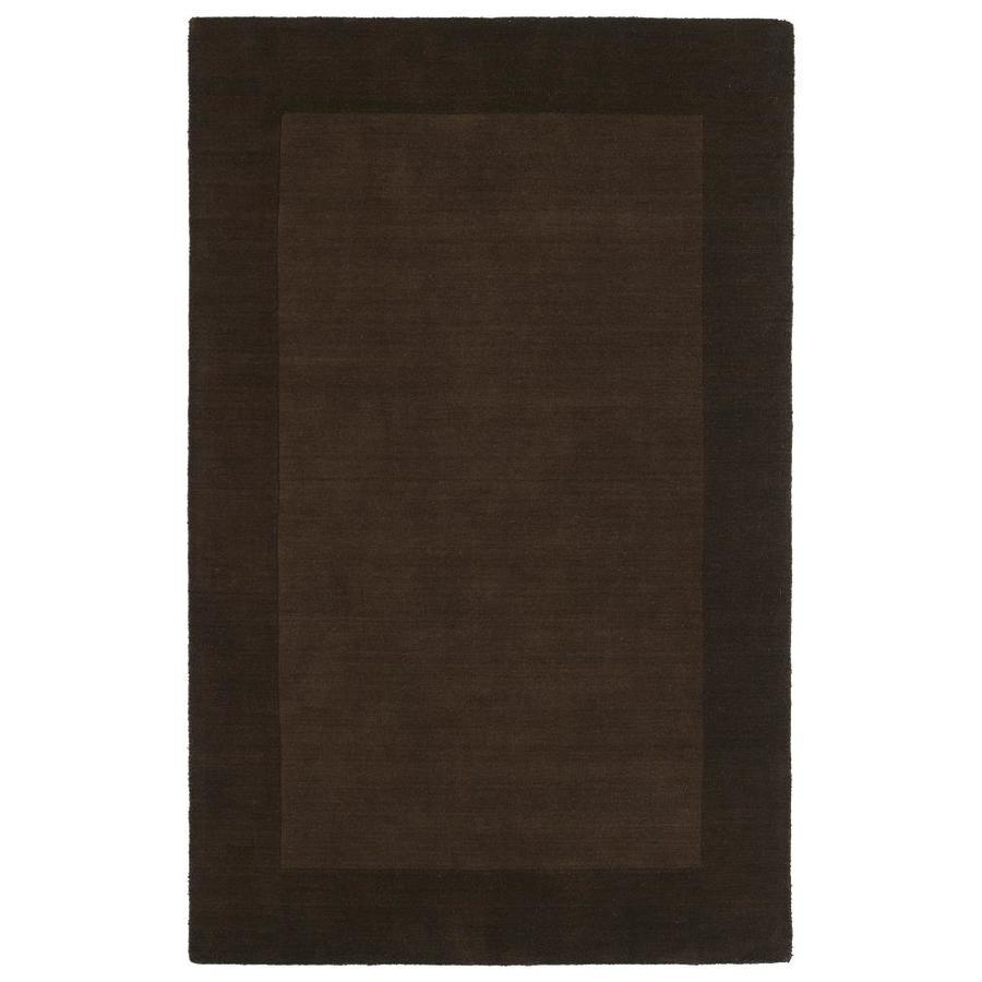 Kaleen Regency Brown Indoor Handcrafted Oriental Area Rug (Common: 4 x 6; Actual: 3.5-ft W x 5.25-ft L)