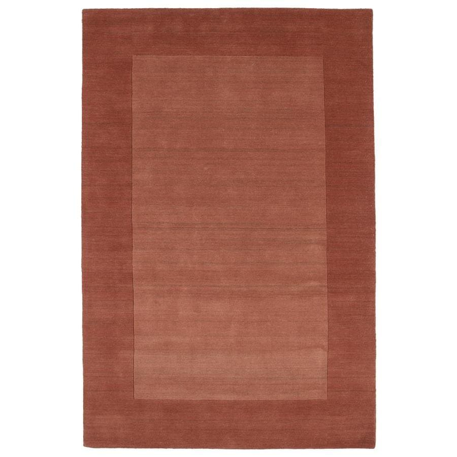 Kaleen Regency Salmon Rectangular Indoor Handcrafted Oriental Area Rug (Common: 4 x 6; Actual: 3.5-ft W x 5.25-ft L)