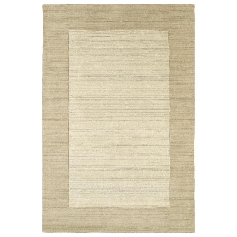 Kaleen Regency Linen Rectangular Indoor Handcrafted Oriental Area Rug (Common: 10 x 13; Actual: 9.5-ft W x 13-ft L)