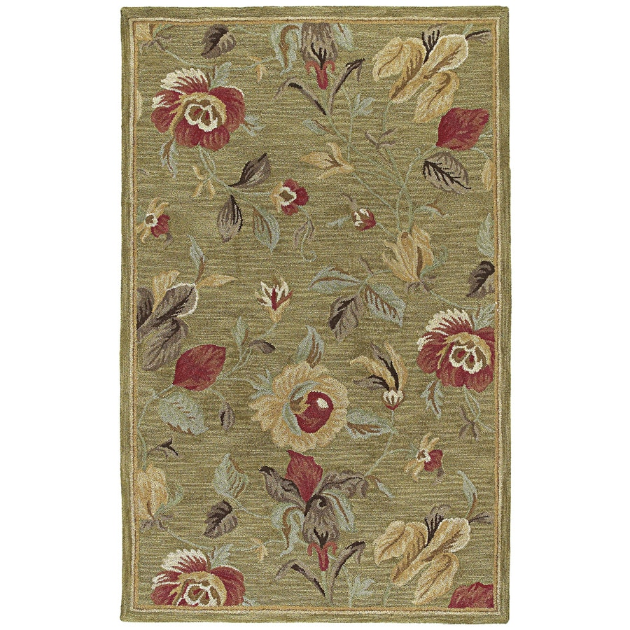 Kaleen Khazana Rectangular Indoor Tufted Area Rug (Common: 5 x 8; Actual: 60-in W x 93-in L)