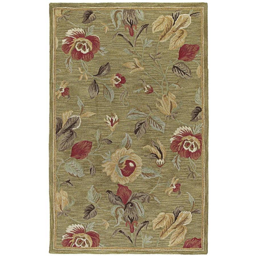 Kaleen Khazana Rectangular Indoor Tufted Area Rug (Common: 8 x 10; Actual: 90-in W x 108-in L)