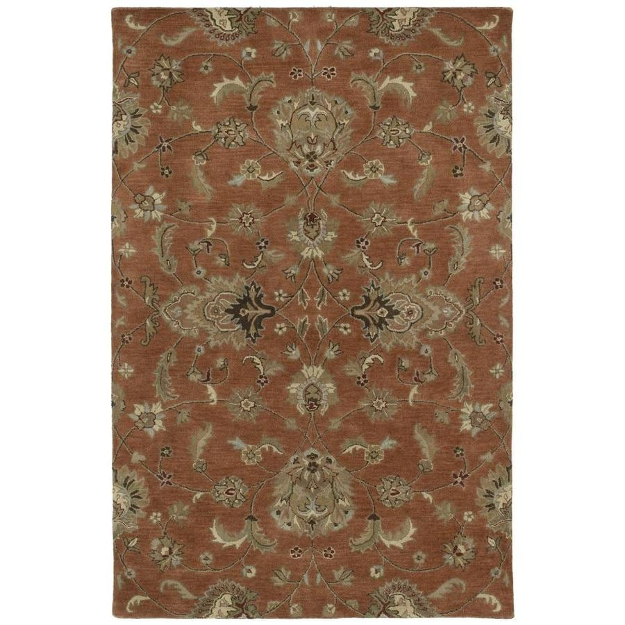 Kaleen Mystic Copper Rectangular Indoor Handcrafted Nature Area Rug (Common: 8 x 10; Actual: 8-ft W x 10-ft L)