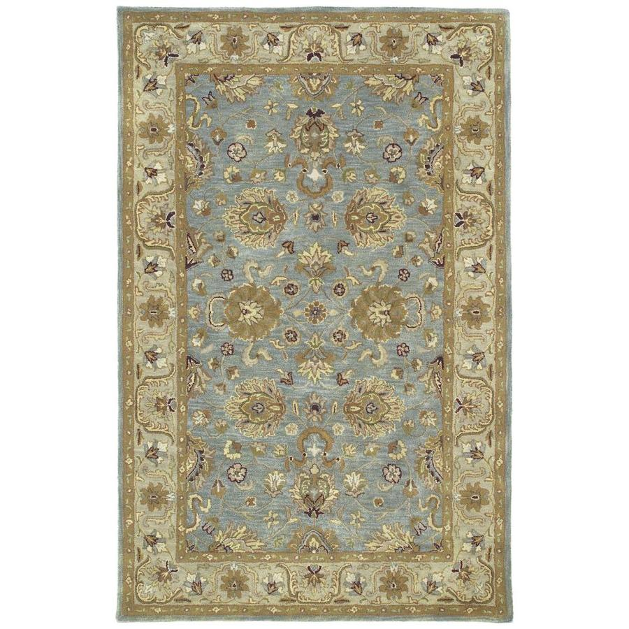Kaleen Mystic Spa Indoor Handcrafted Nature Throw Rug (Common: 2 x 3; Actual: 2-ft W x 4-ft L)