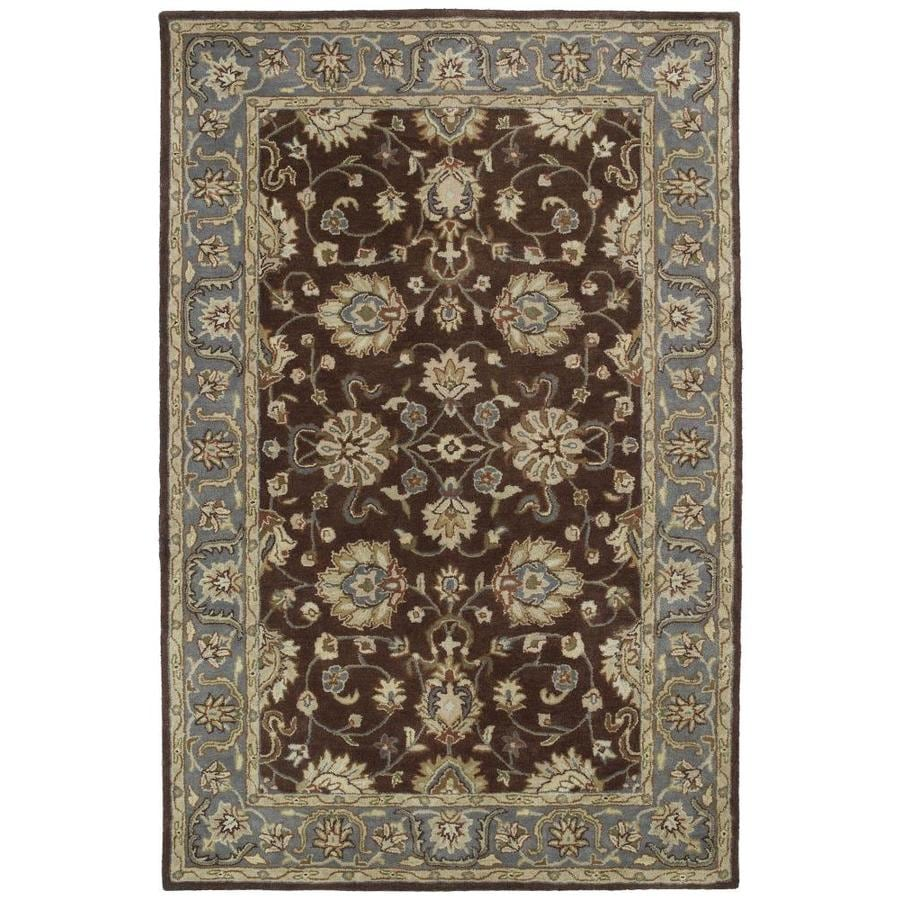 Kaleen Mystic Brown Round Indoor Handcrafted Nature Area Rug (Common: 9 x 9; Actual: 9.75-ft W x 9.75-ft L x 4.88-ft dia)