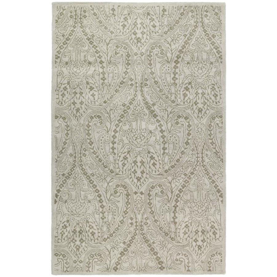 Kaleen Khazana Ivory 2-ft x 3-ft Throw Rug