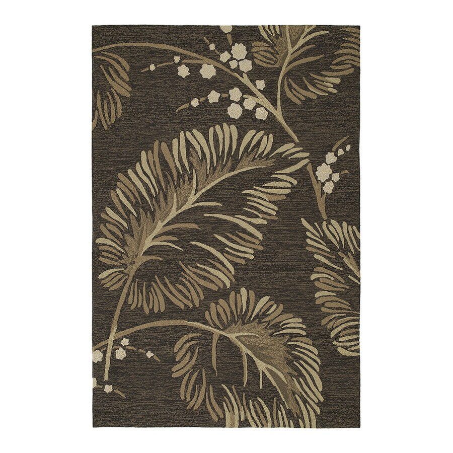 Kaleen Home and Porch Rectangular Indoor and Outdoor Tufted Area Rug (Common: 8 x 10; Actual: 108-in W x 90-in L)