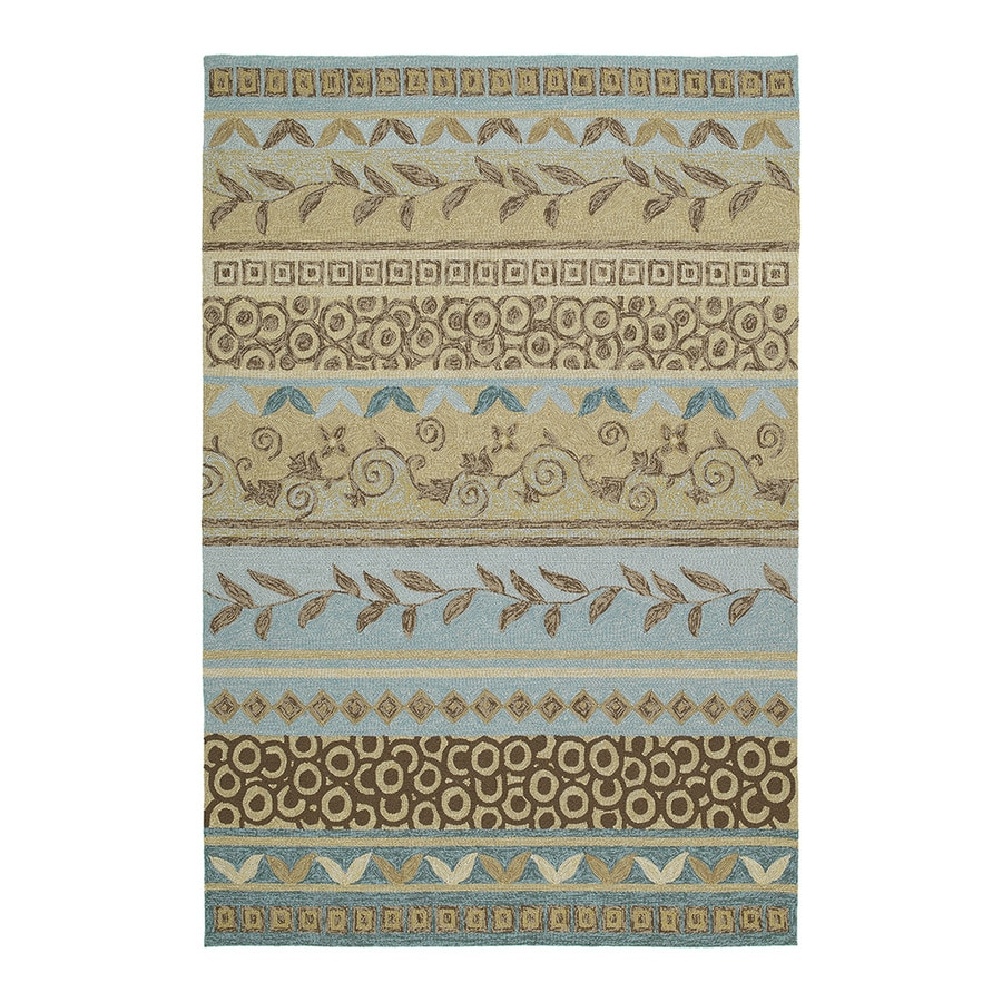 Kaleen Home and Porch Rectangular Indoor and Outdoor Tufted Throw Rug (Common: 3 x 5; Actual: 60-in W x 36-in L)
