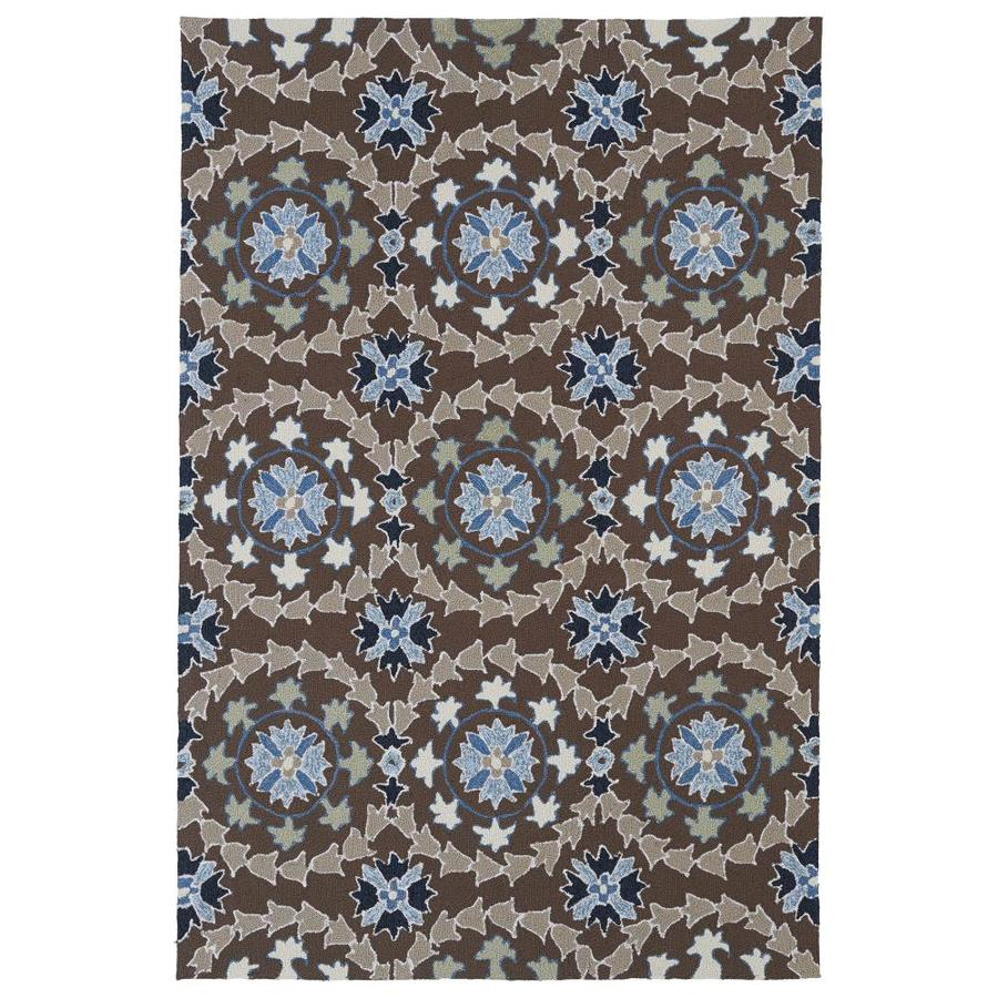 Kaleen Home and Porch Blue Indoor Handcrafted Oriental Throw Rug (Common: 2 x 3; Actual: 2-ft W x 3-ft L)