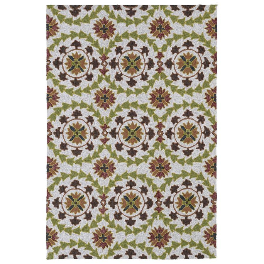 Kaleen Home and Porch Brown Indoor Handcrafted Oriental Throw Rug (Common: 3 x 5; Actual: 3-ft W x 5-ft L)