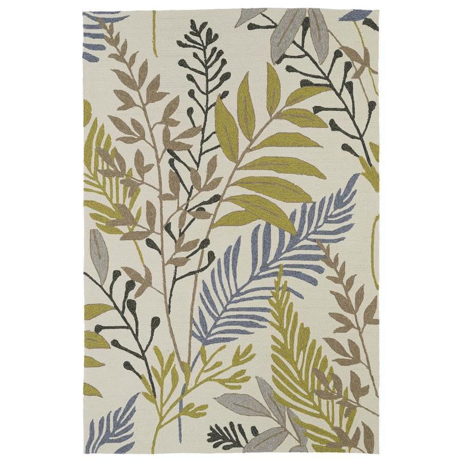 Kaleen Home and Porch Sand Indoor Handcrafted Oriental Throw Rug (Common: 2 x 3; Actual: 2-ft W x 3-ft L)