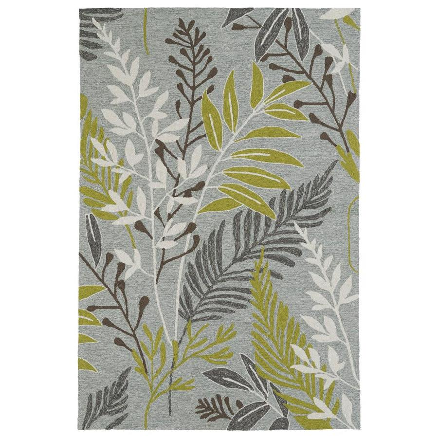 Kaleen Home and Porch Wasabi Rectangular Indoor Handcrafted Oriental Area Rug (Common: 9 x 12; Actual: 9-ft W x 12-ft L)