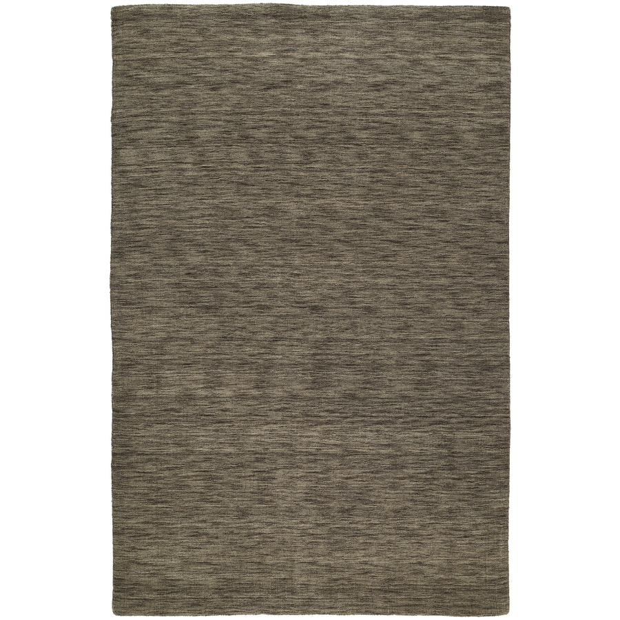 Kaleen Regale Rectangular Brown Solid Tufted Wool Area Rug (Common: 5-ft x 8-ft; Actual: 5-ft x 7.5-ft)