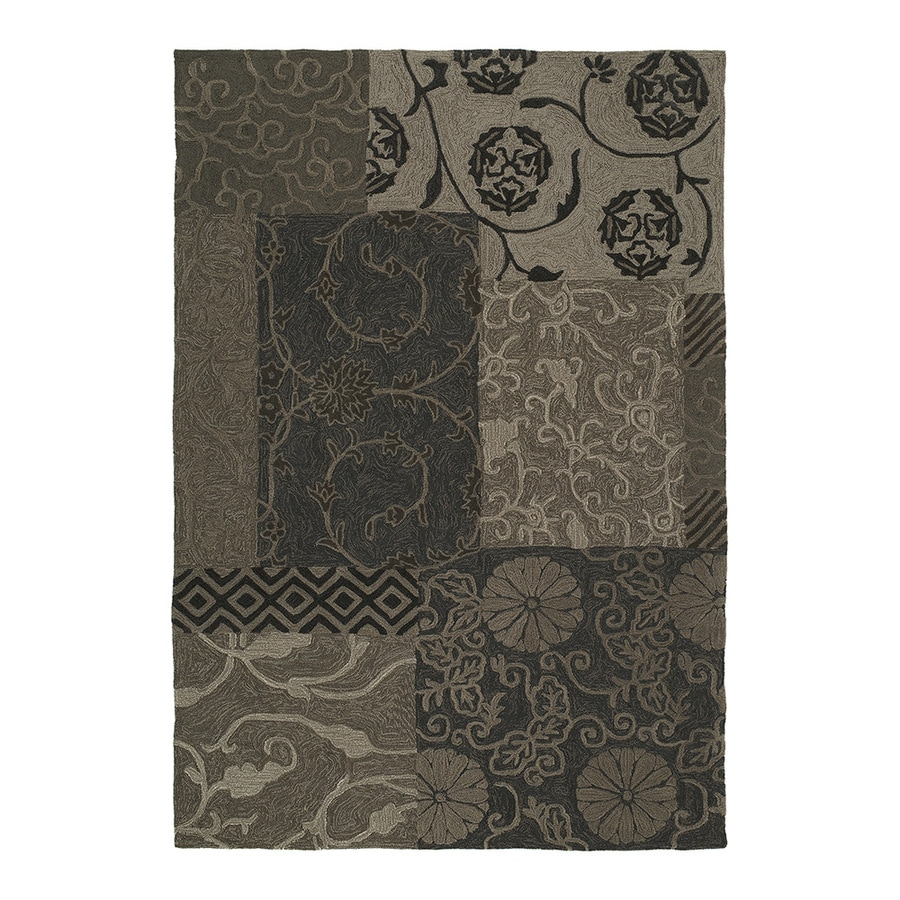 Kaleen Premier 8-ft 9-in x 12-ft Chocolate Traditional Area Rug