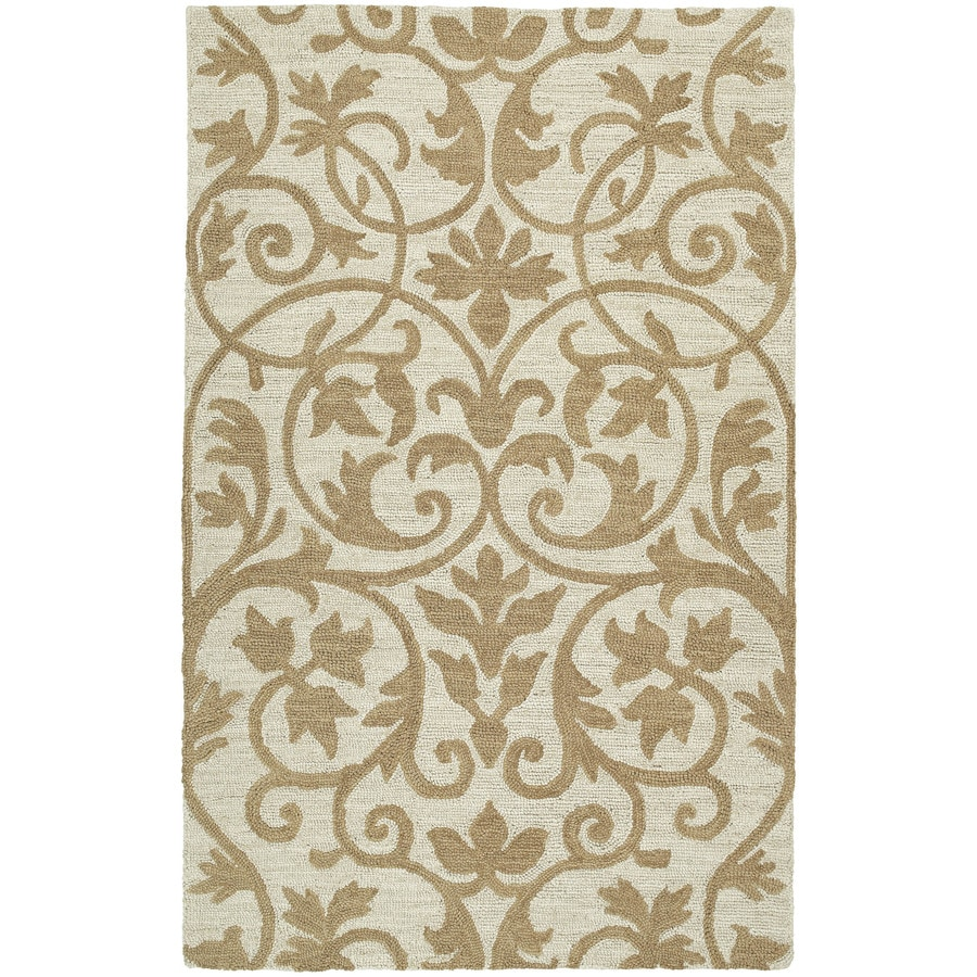 Kaleen Carriage Brown Rectangular Indoor Tufted Area Rug (Common: 9 x 12; Actual: 108-in W x 144-in L)