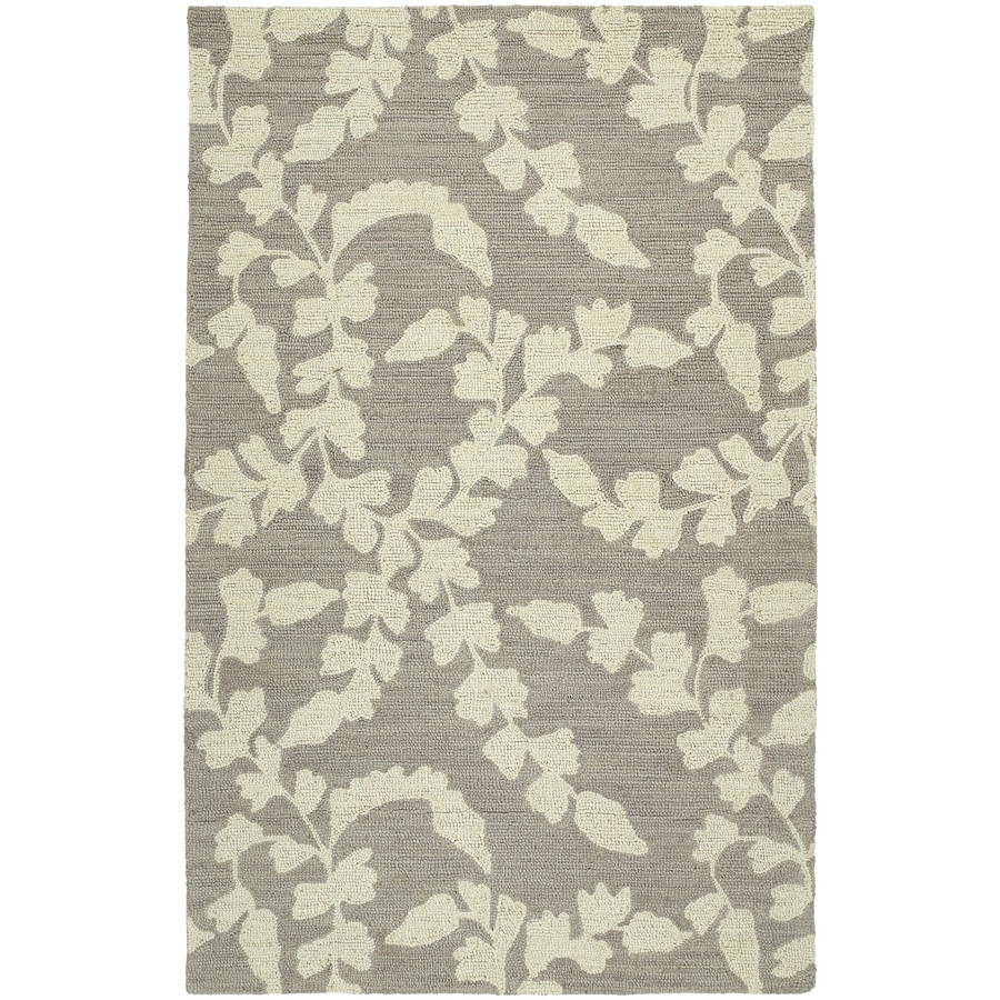 Kaleen Carriage Graphite Rectangular Indoor Handcrafted Nature Area Rug (Common: 9 x 12; Actual: 9-ft W x 12-ft L)