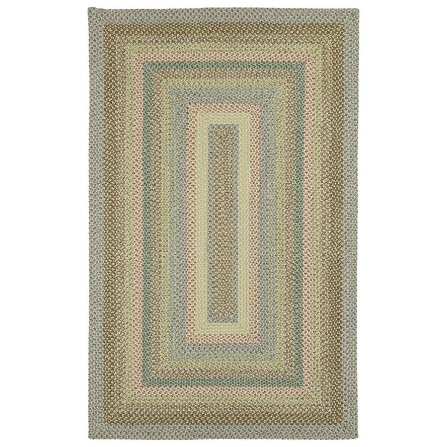 Kaleen Bimini Decolores Indoor/Outdoor Handcrafted Novelty Throw Rug (Common: 3 x 5; Actual: 3-ft W x 5-ft L)