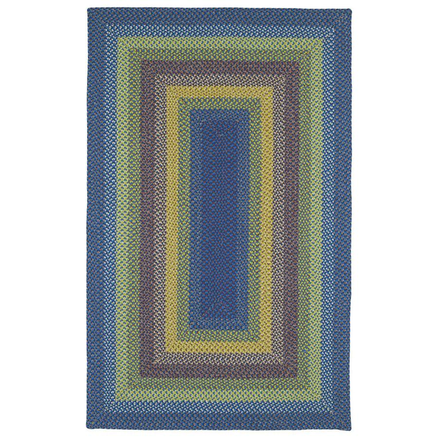 Kaleen Bimini Multi Rectangular Indoor/Outdoor Handcrafted Novelty Throw Rug (Common: 2 x 3; Actual: 2-ft W x 3-ft L)