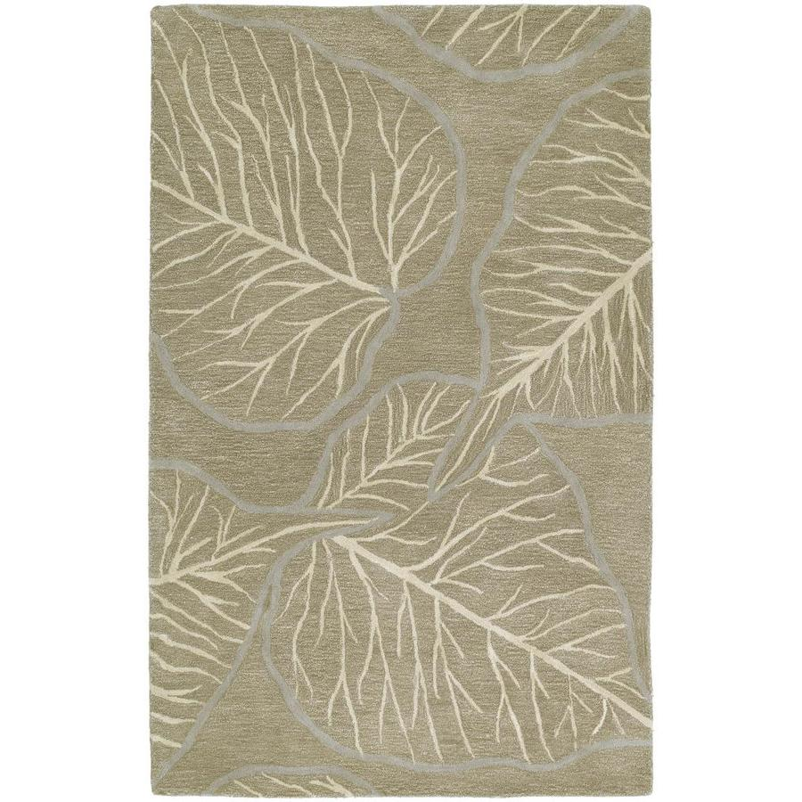 Kaleen Astronomy Chocolate Rectangular Indoor Handcrafted Nature Throw Rug (Common: 3 x 5; Actual: 3.0-ft W x 5.0-ft L)