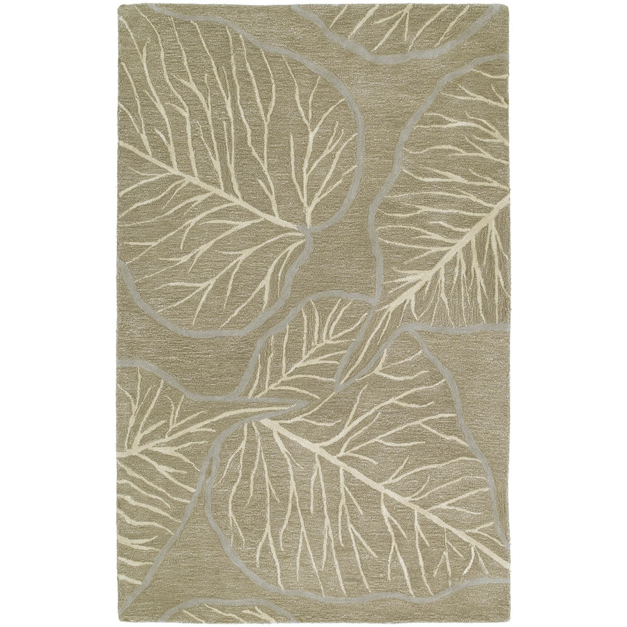 Kaleen Astronomy Chocolate Indoor Handcrafted Nature Area Rug (Common: 9 x 12; Actual: 9.5-ft W x 13-ft L)