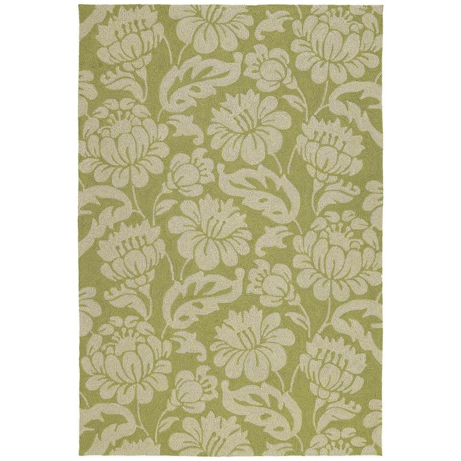 Kaleen Habitat Wasabi Indoor/Outdoor Handcrafted Nature Area Rug (Common: 8 x 10; Actual: 8-ft W x 10-ft L)