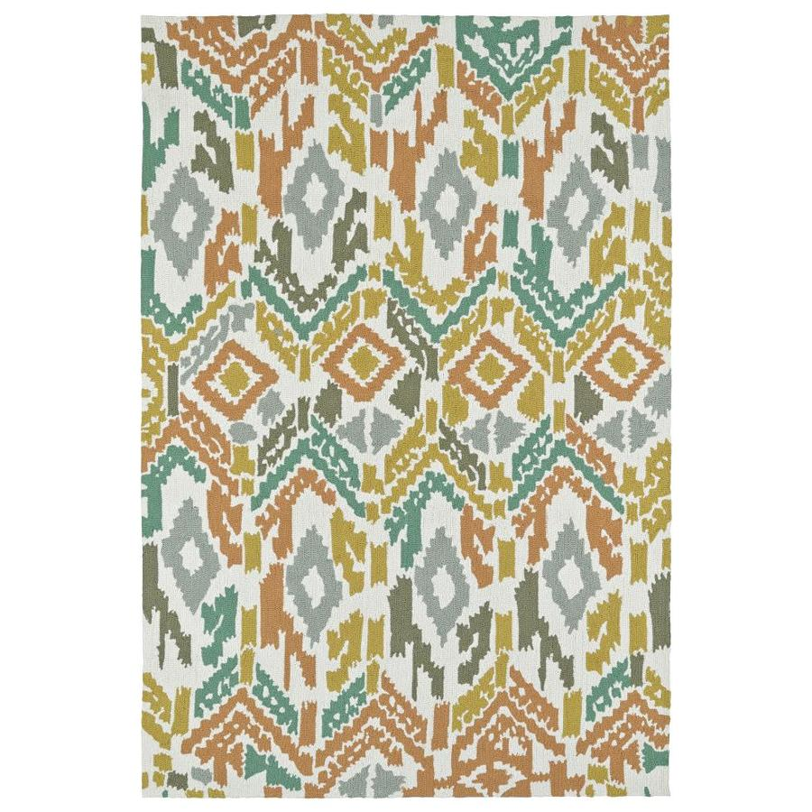 Kaleen Habitat Multi Rectangular Indoor/Outdoor Handcrafted Novelty Area Rug (Common: 9 x 12; Actual: 9-ft W x 12-ft L)