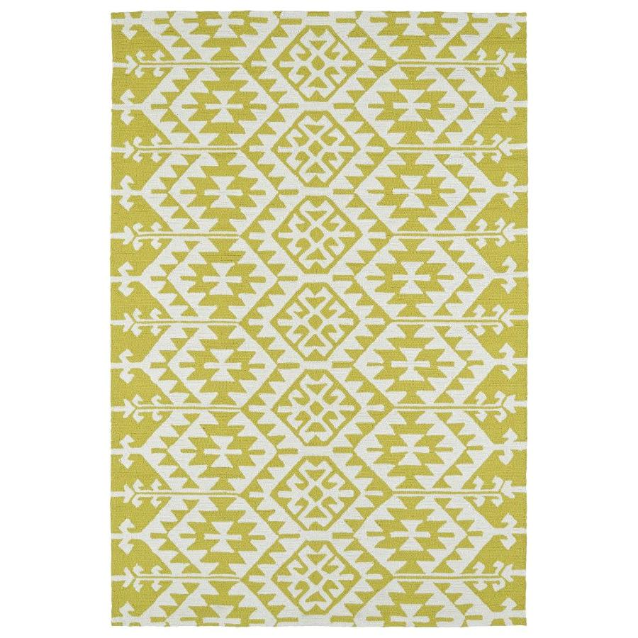 Kaleen Habitat Wasabi Rectangular Indoor/Outdoor Handcrafted Novelty Area Rug (Common: 8 x 10; Actual: 8-ft W x 10-ft L)