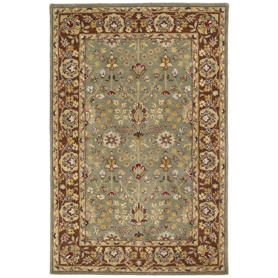 Kaleen Heirloom Beryl Rectangular Indoor Handcrafted Oriental Area Rug (Common: 5 x 7; Actual: 5-ft W x 7.75-ft L)