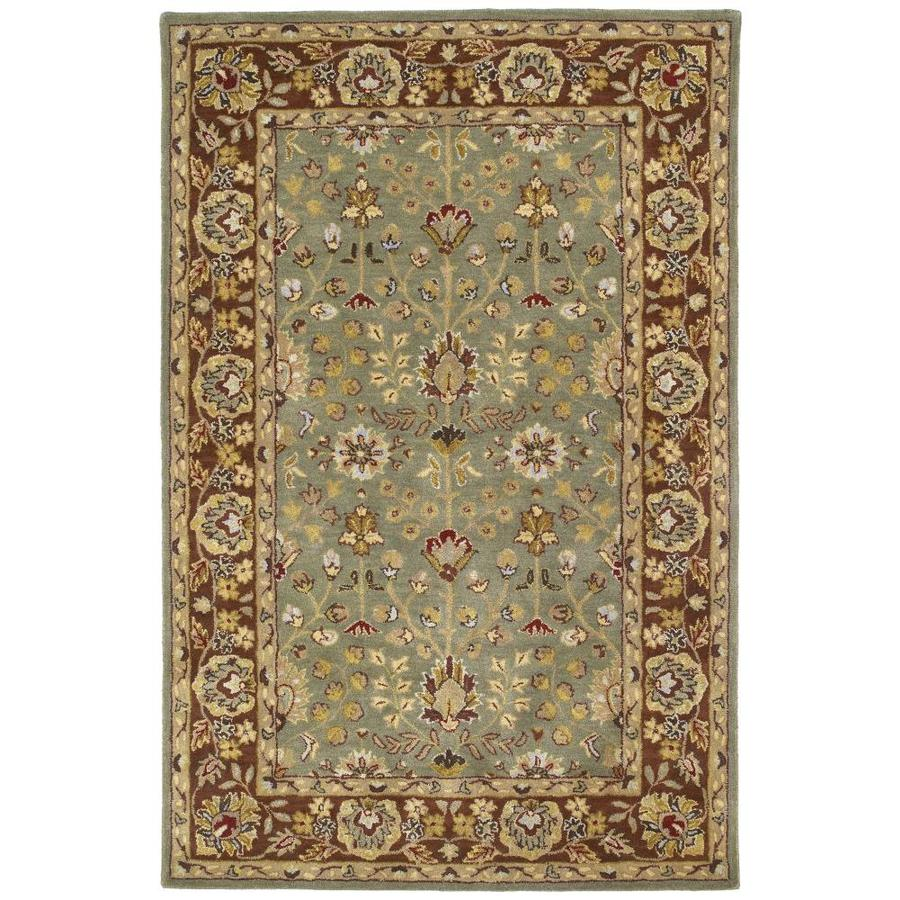Kaleen Heirloom Beryl Rectangular Indoor Handcrafted Oriental Area Rug (Common: 9 x 12; Actual: 9-ft W x 12-ft L)