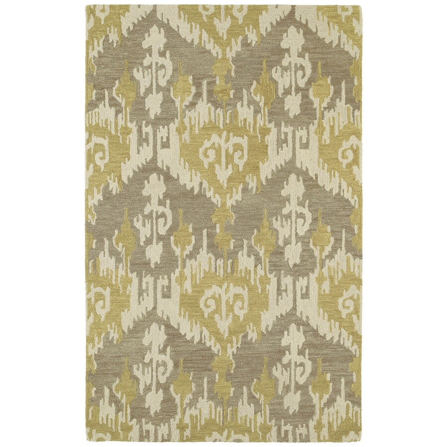 Kaleen Casual Graphite Rectangular Indoor Handcrafted Southwestern Area Rug (Common: 8 x 11; Actual: 8-ft W x 11-ft L)
