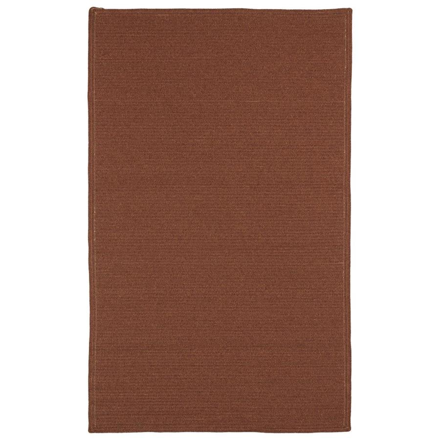 Kaleen Bikini Paprika Rectangular Indoor/Outdoor Handcrafted Novelty Throw Rug (Common: 2 x 3; Actual: 2-ft W x 3-ft L)