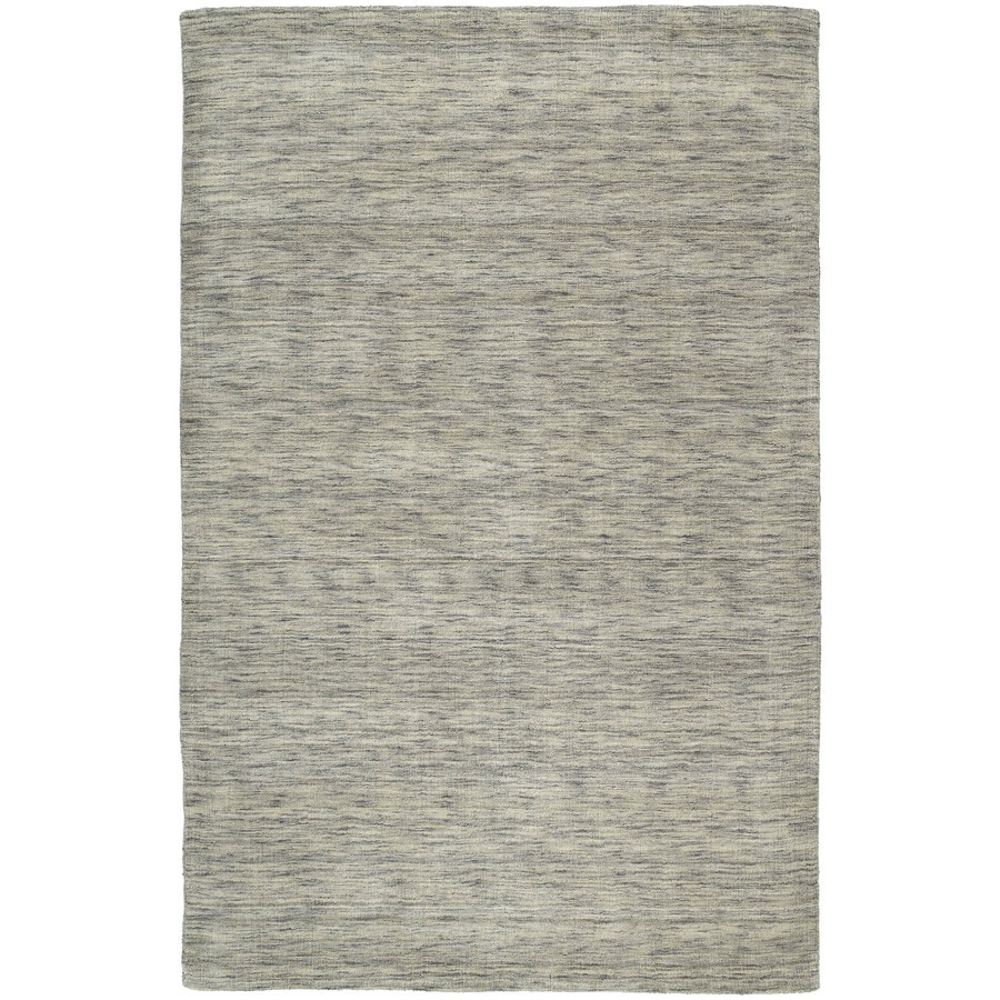 Kaleen Renaissance Graphite Indoor Handcrafted Lodge Area Rug (Common: 8 x 11; Actual: 8-ft W x 11-ft L)