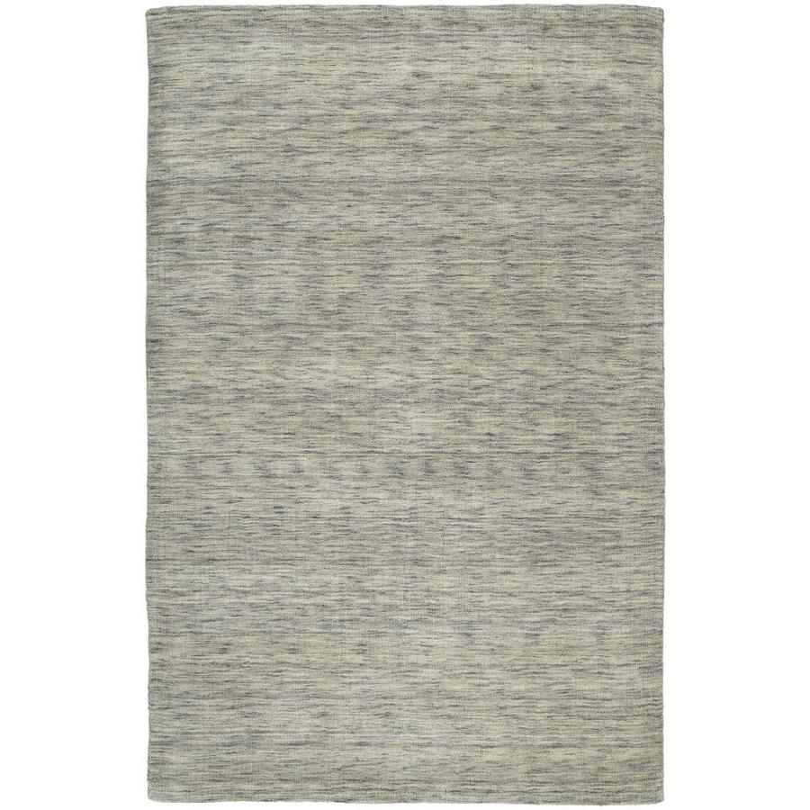 Kaleen Renaissance Graphite Indoor Handcrafted Lodge Area Rug (Common: 10 x 13; Actual: 9.5-ft W x 13-ft L)