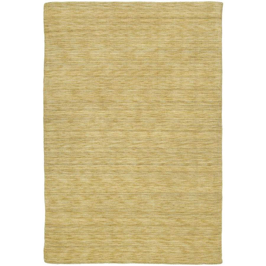 Kaleen Renaissance Butterscotch Indoor Handcrafted Lodge Area Rug (Common: 10 x 13; Actual: 9.5-ft W x 13-ft L)