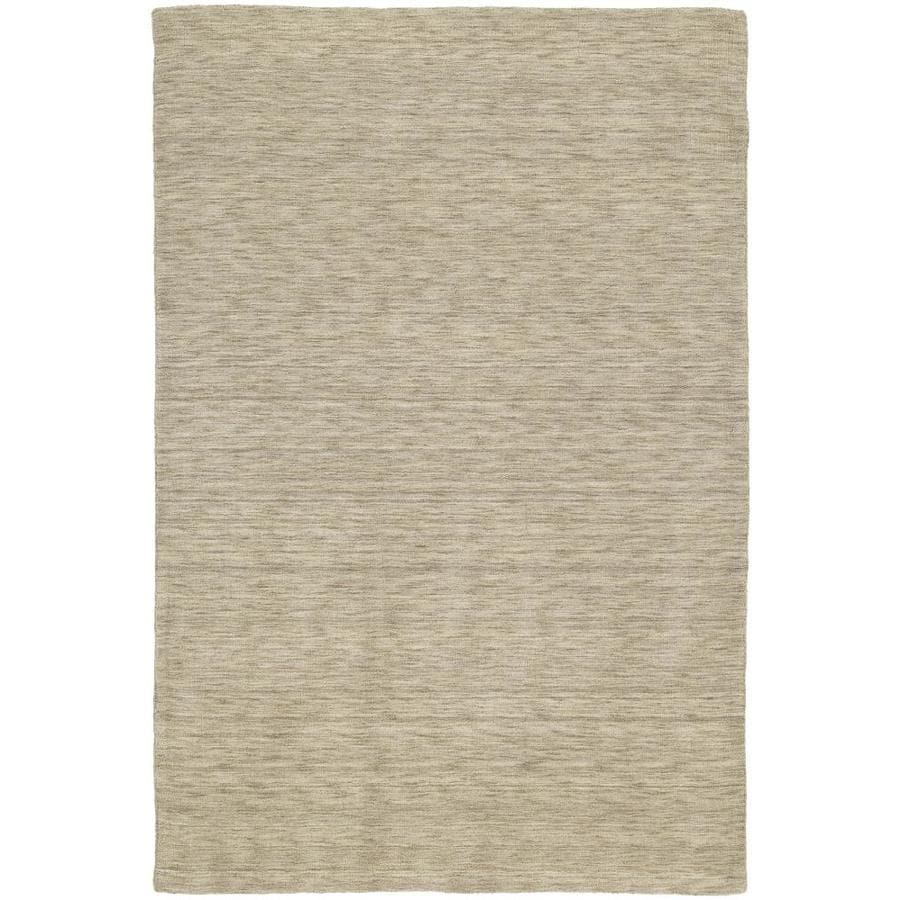 Kaleen Renaissance Sable Indoor Handcrafted Lodge Area Rug (Common: 8 x 9; Actual: 7.5-ft W x 9-ft L)