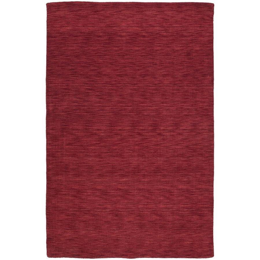 Kaleen Renaissance Cardinal Indoor Handcrafted Lodge Throw Rug (Common: 3 x 5; Actual: 3-ft W x 5-ft L)