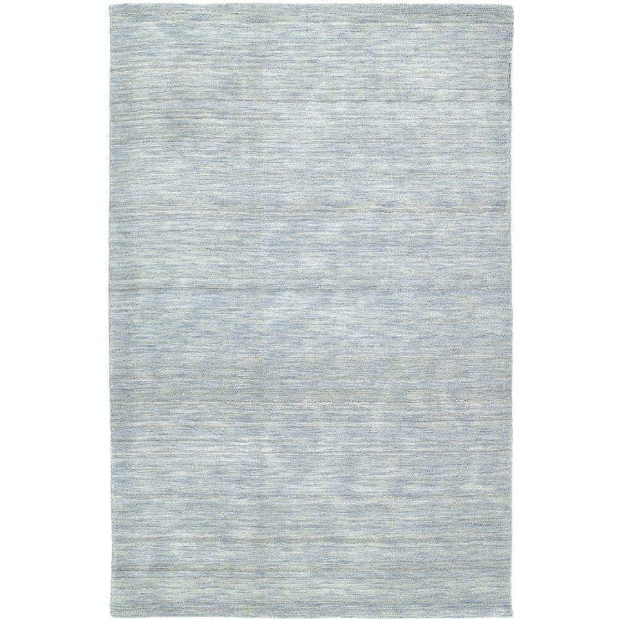 Kaleen Renaissance Azure Rectangular Indoor Tufted Area Rug (Common: 5 x 8; Actual: 60-in W x 90-in L)