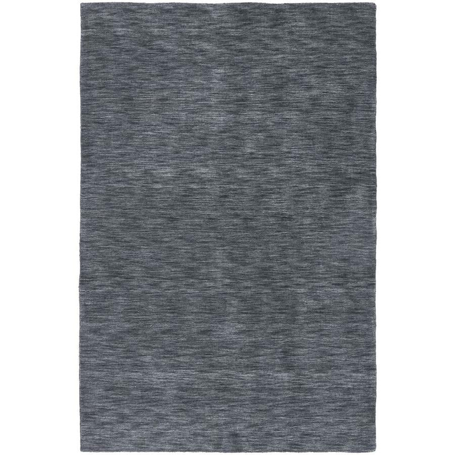 Kaleen Renaissance Charcoal Indoor Handcrafted Lodge Throw Rug (Common: 3 x 5; Actual: 3-ft W x 5-ft L)