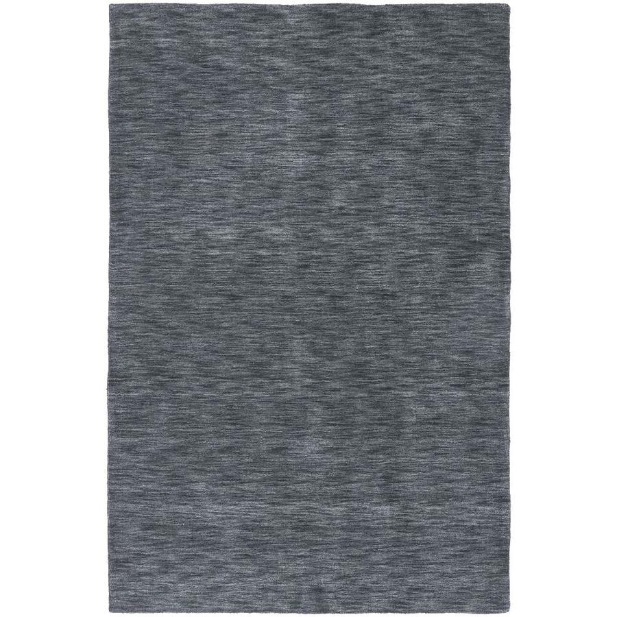 Kaleen Renaissance Charcoal Indoor Handcrafted Lodge Area Rug (Common: 8 x 9; Actual: 7.5-ft W x 9-ft L)