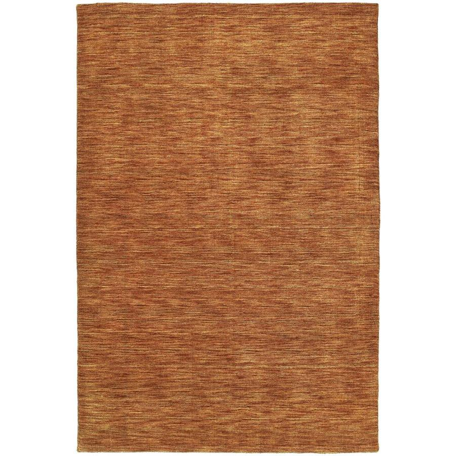 Kaleen Renaissance Salsa Rectangular Indoor Handcrafted Lodge Area Rug (Common: 10 x 13; Actual: 9.5-ft W x 13-ft L)