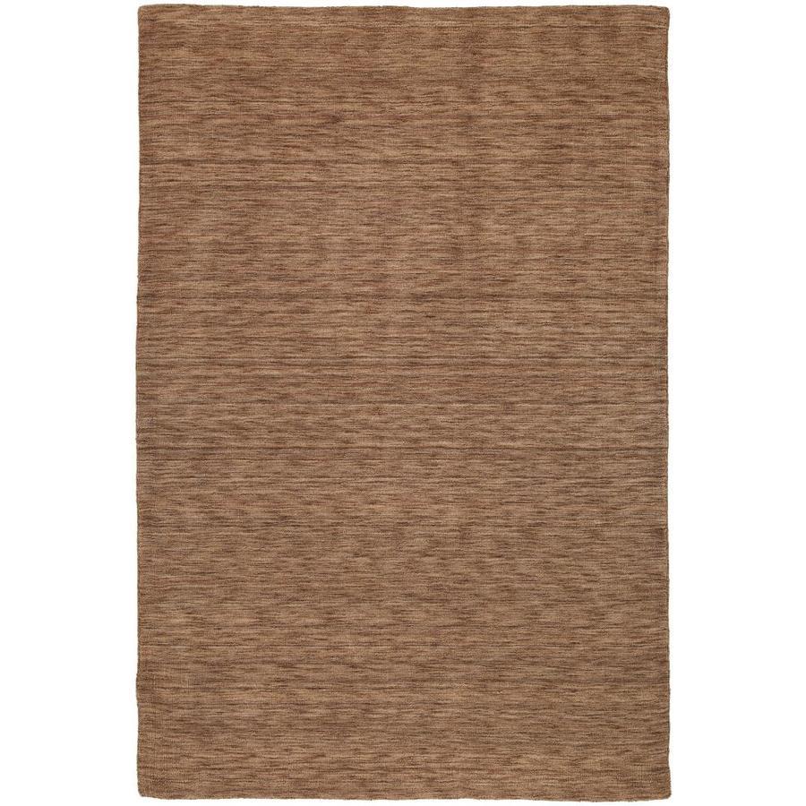 Kaleen Renaissance Copper Indoor Handcrafted Lodge Area Rug (Common: 8 x 11; Actual: 8-ft W x 11-ft L)