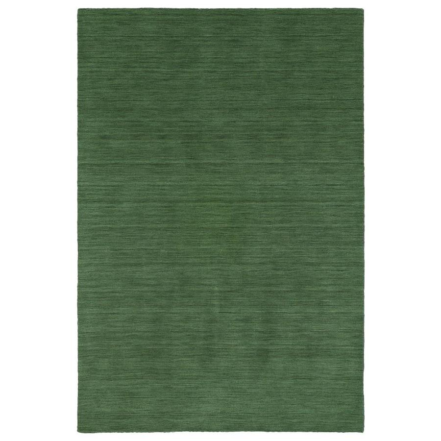 Kaleen Renaissance Emerald Rectangular Indoor Handcrafted Lodge Area Rug (Common: 8 x 11; Actual: 8-ft W x 11-ft L)
